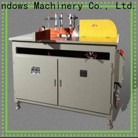 kingtool aluminium machinery eco-friendly aluminum cutting machine for aluminum curtain wall in factory