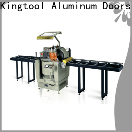 kingtool aluminium machinery heavyduty aluminium extrusion cutting machine for aluminum window in factory