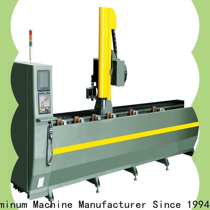 kingtool aluminium machinery precise Aluminium CNC Router producer for grooving