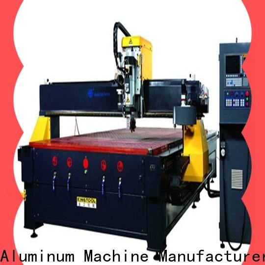 kingtool aluminium machinery eco-friendly best cnc router for aluminum China factory for tapping