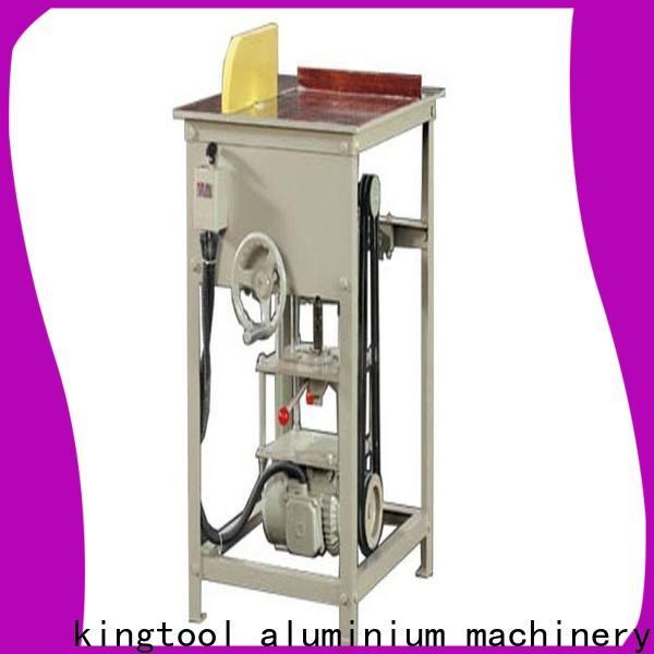 kingtool aluminium machinery inexpensive aluminium section cutting machine for aluminum curtain wall in plant