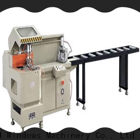 kingtool aluminium machinery durable aluminium cutting machine for aluminum window in plant