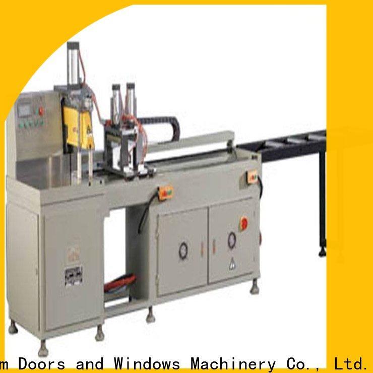easy-operating aluminium cutting machine cnc for aluminum window in factory