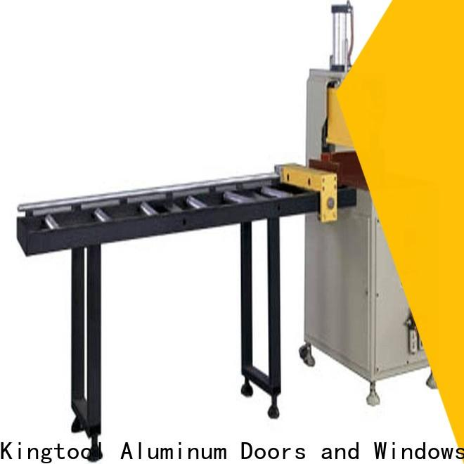 kingtool aluminium machinery angle aluminium cutting machine price for aluminum door in plant