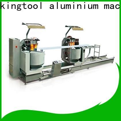 kingtool aluminium machinery eco-friendly aluminum cutting machine price for aluminum door in plant