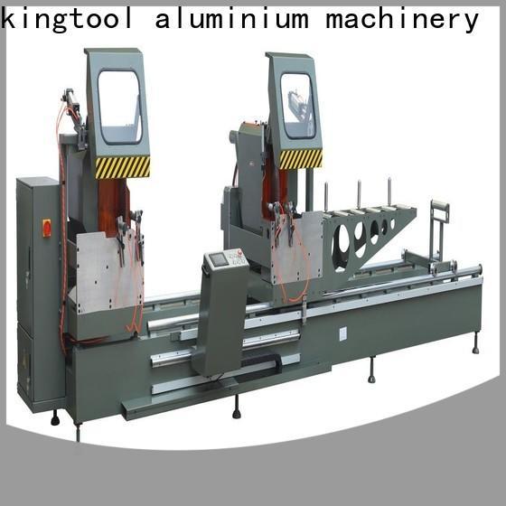 kingtool aluminium machinery cnc aluminium cutting machine price for aluminum curtain wall in plant