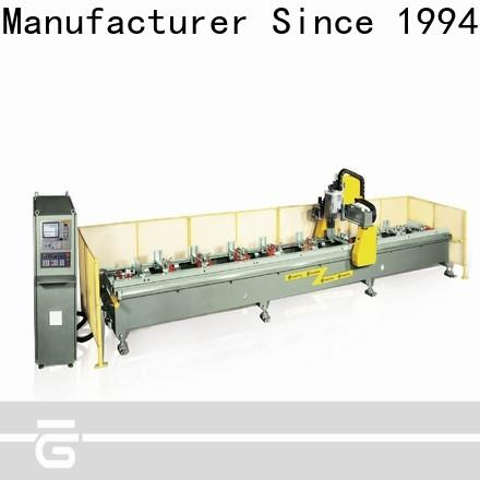 kingtool aluminium machinery drilling cnc router for aluminum parts in different color for milling
