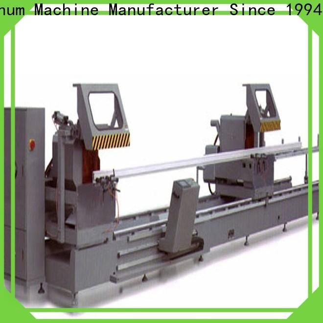 kingtool aluminium machinery wall types of cnc machine for aluminum window in plant