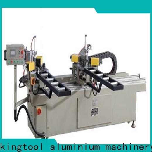 kingtool aluminium machinery hydraulic aluminium window crimper customization for engraving