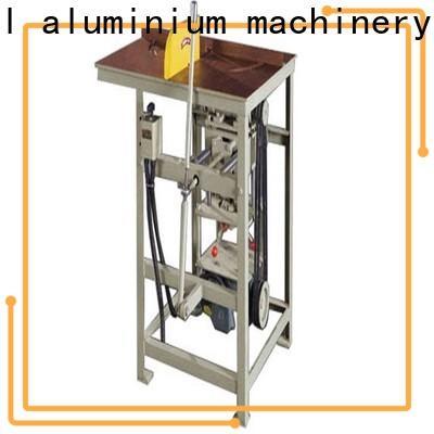 easy-operating aluminium sheet cutting machine aluminum for curtain wall materials in workshop