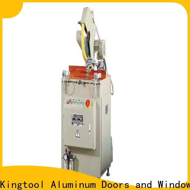 kingtool aluminium machinery angle aluminium cutting machines for aluminum window in factory