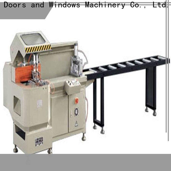 kingtool aluminium machinery curtain aluminum cutting machine price for aluminum window in workshop