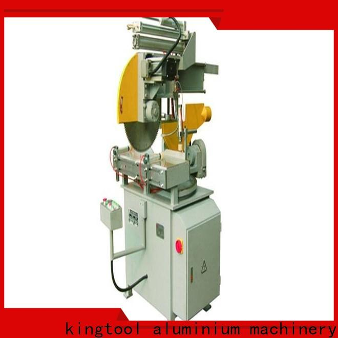 kingtool aluminium machinery best-selling types of cnc machine for aluminum curtain wall in plant