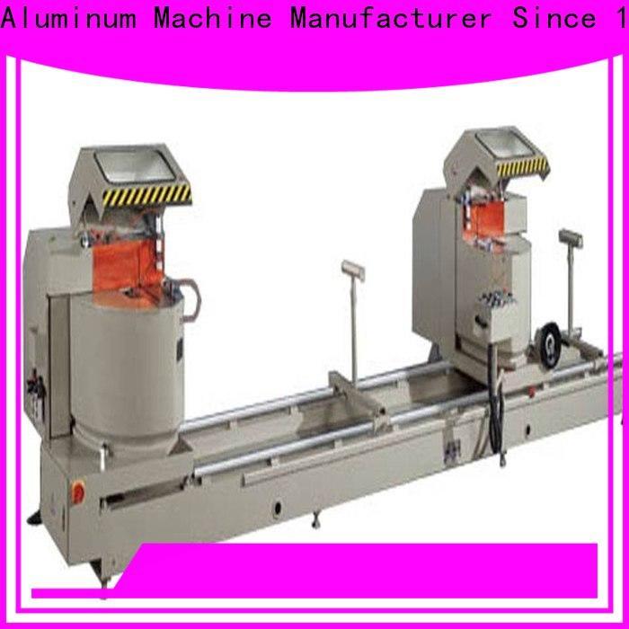 kingtool aluminium machinery duty aluminium section cutting machine for aluminum door in plant