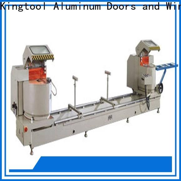 kingtool aluminium machinery angle types of cnc machine for aluminum door in workshop