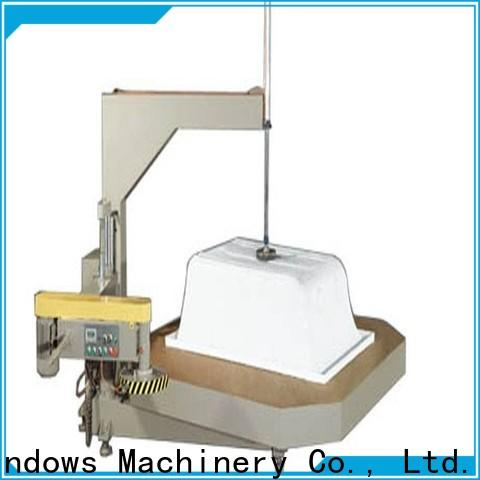 kingtool aluminium machinery best-selling sanitary aluminum cutting machine from China for steel plate