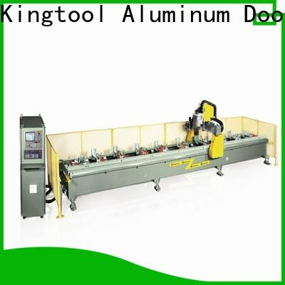 kingtool aluminium machinery double cnc router reviews factory price for PVC sheets