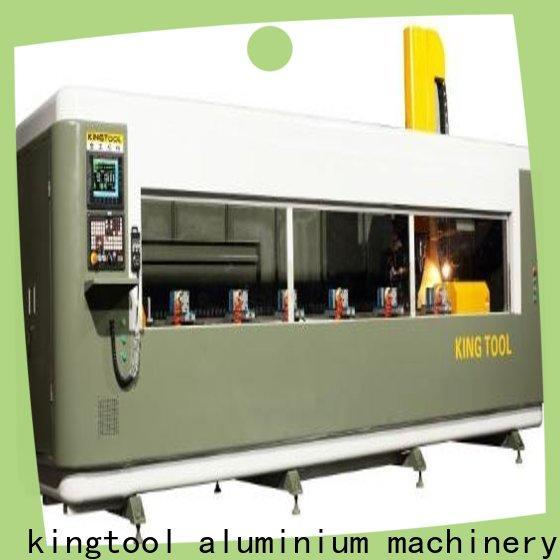 kingtool aluminium machinery adjustable aluminium router machine China manufacturer for PVC sheets