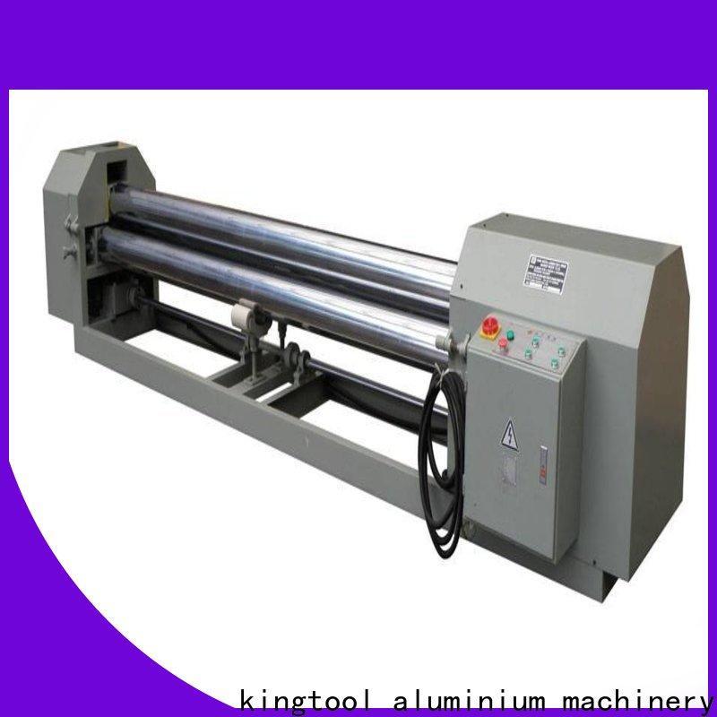 kingtool aluminium machinery best-selling aluminium bender customization for PVC sheets