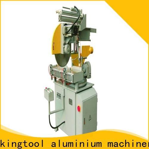 kingtool aluminium machinery profiles aluminium section cutting machine for aluminum door in plant