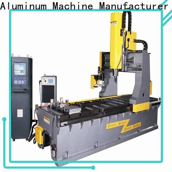 kingtool aluminium machinery eco-friendly aluminum welding equipment bulk production for tapping