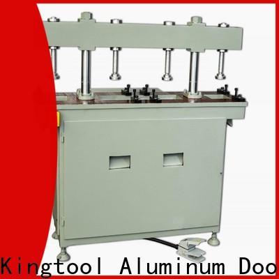 kingtool aluminium machinery steady aluminum hydraulic punching machine order now for steel plate