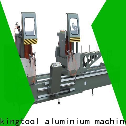 kingtool aluminium machinery precision aluminium cutter for aluminum window in plant