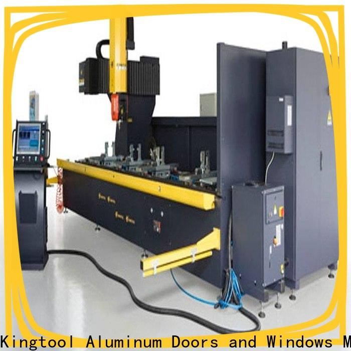 kingtool aluminium machinery drilling cnc router reviews with good price for steel plate