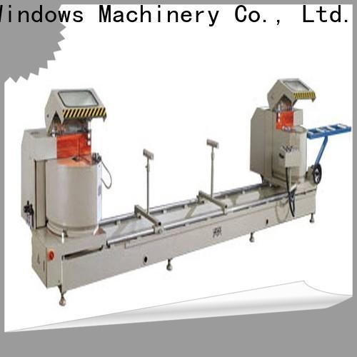 kingtool aluminium machinery heavy aluminium section cutting machine for plastic profile in plant