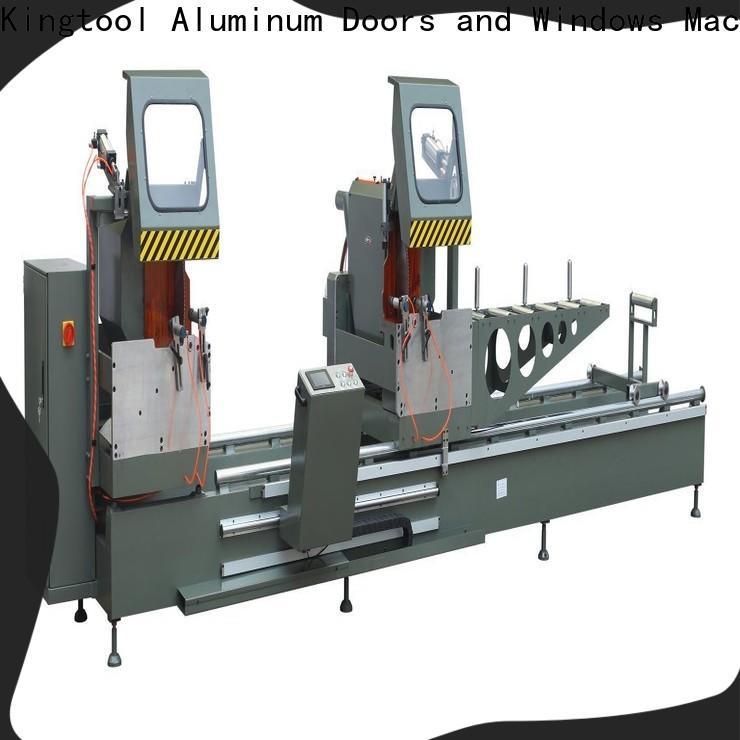 kingtool aluminium machinery digital core cutting machine for aluminum curtain wall in factory
