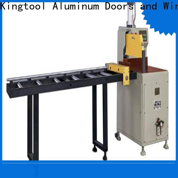 kingtool aluminium machinery first-rate cutting machine price for aluminum window in plant