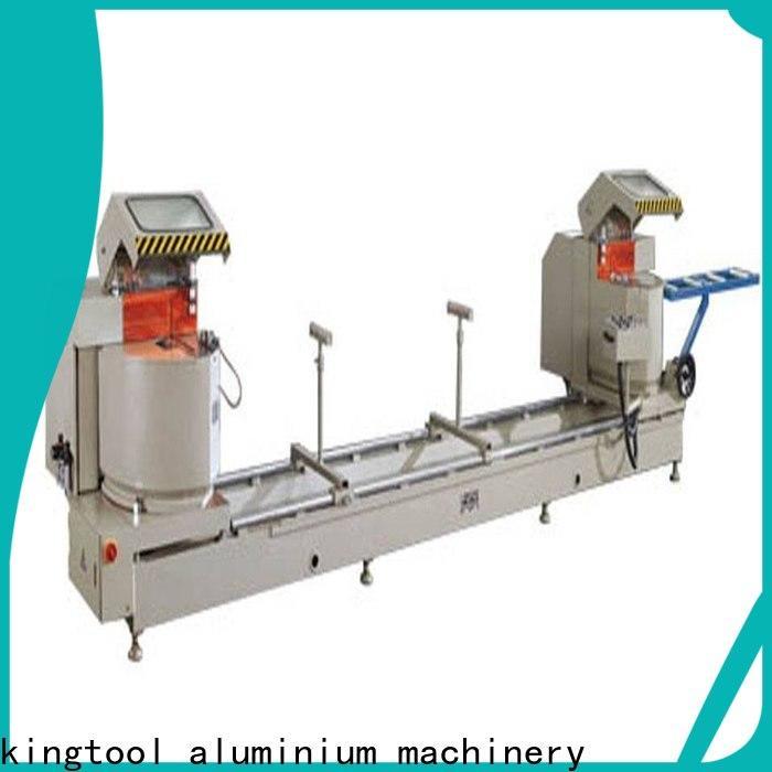 stable automatic aluminium cutting machine precision for plastic profile in workshop
