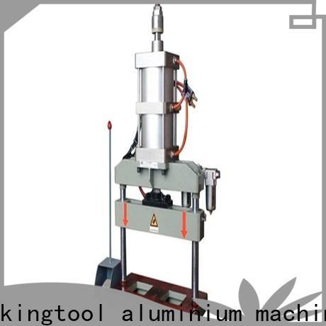 kingtool aluminium machinery precise steel hole punching machine order now for PVC sheets
