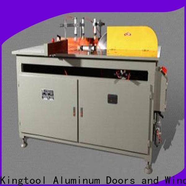 kingtool aluminium machinery adjustable aluminium cutting machine for plastic profile in factory