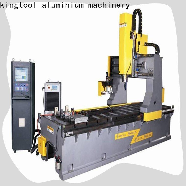 kingtool aluminium machinery machine aluminium welding machine price free quote for PVC sheets