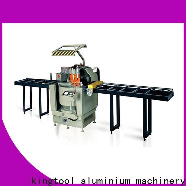 kingtool aluminium machinery adjustable digital display double head saw free quote for steel plate