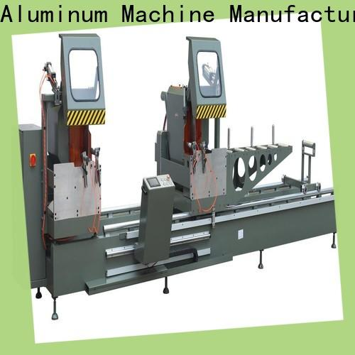 kingtool aluminium machinery manual aluminium extrusion cutting machine for aluminum curtain wall in plant