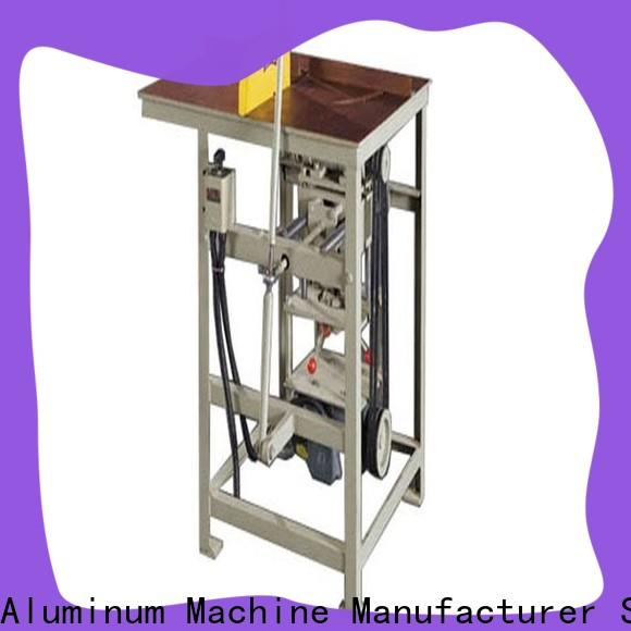 best-selling aluminium sheet cutting machine double for aluminum door in workshop