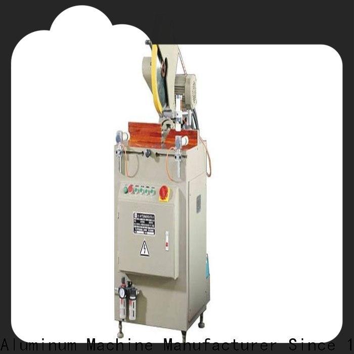 easy-operating aluminium sheet cutting machine full for plastic profile in factory