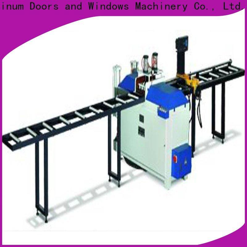 kingtool aluminium machinery angle aluminum cutting machine for curtain wall materials in workshop