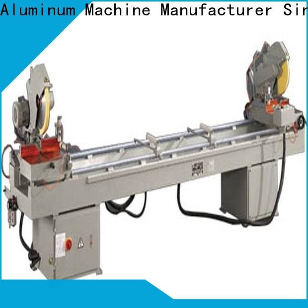 kingtool aluminium machinery adjustable laser metal cutting machine for aluminum door in factory