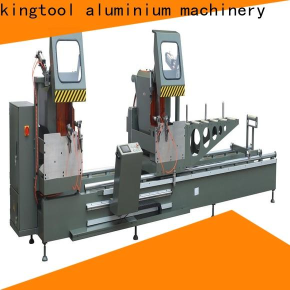 kingtool aluminium machinery adjustable cutting machine price for heat-insulating materials in plant