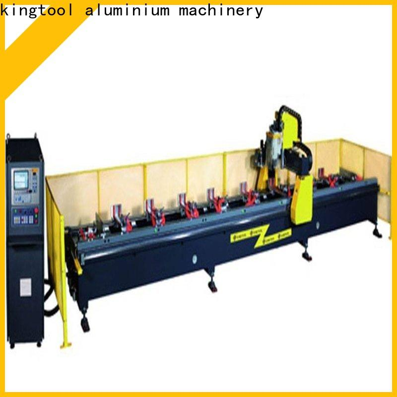 kingtool aluminium machinery eco-friendly 3d cnc router producer for steel plate