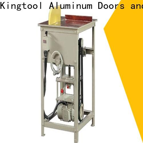 kingtool aluminium machinery duty laser metal cutting machine for aluminum curtain wall in plant