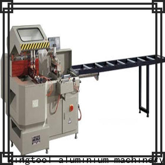 kingtool aluminium machinery full aluminum cutting machine price for plastic profile in workshop