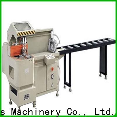 eco-friendly aluminium sheet cutting machine precision for aluminum door in factory