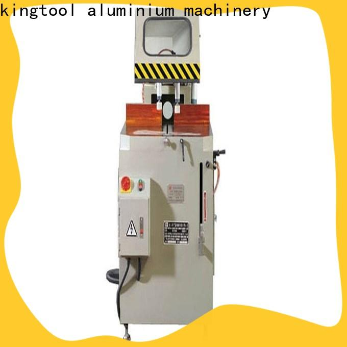 kingtool aluminium machinery mitre cnc machine price for plastic profile in plant