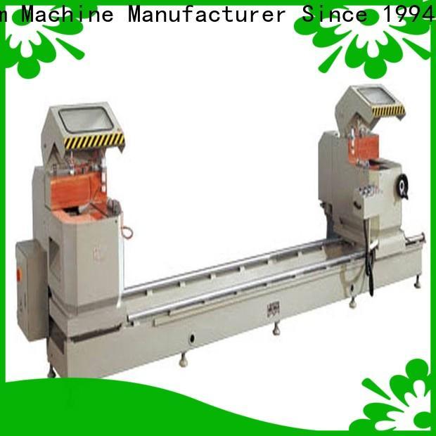kingtool aluminium machinery stable aluminium cutting machine price for aluminum door in workshop