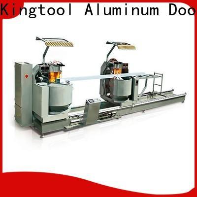 kingtool aluminium machinery profiles aluminium section cutting machine for aluminum door in factory