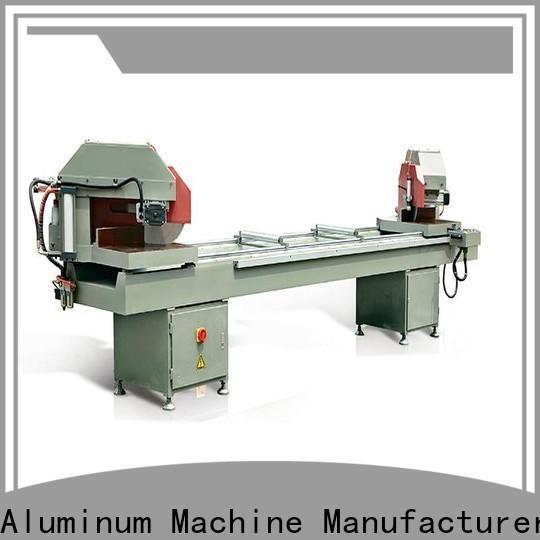 kingtool aluminium machinery stable aluminium section cutting machine for heat-insulating materials in plant